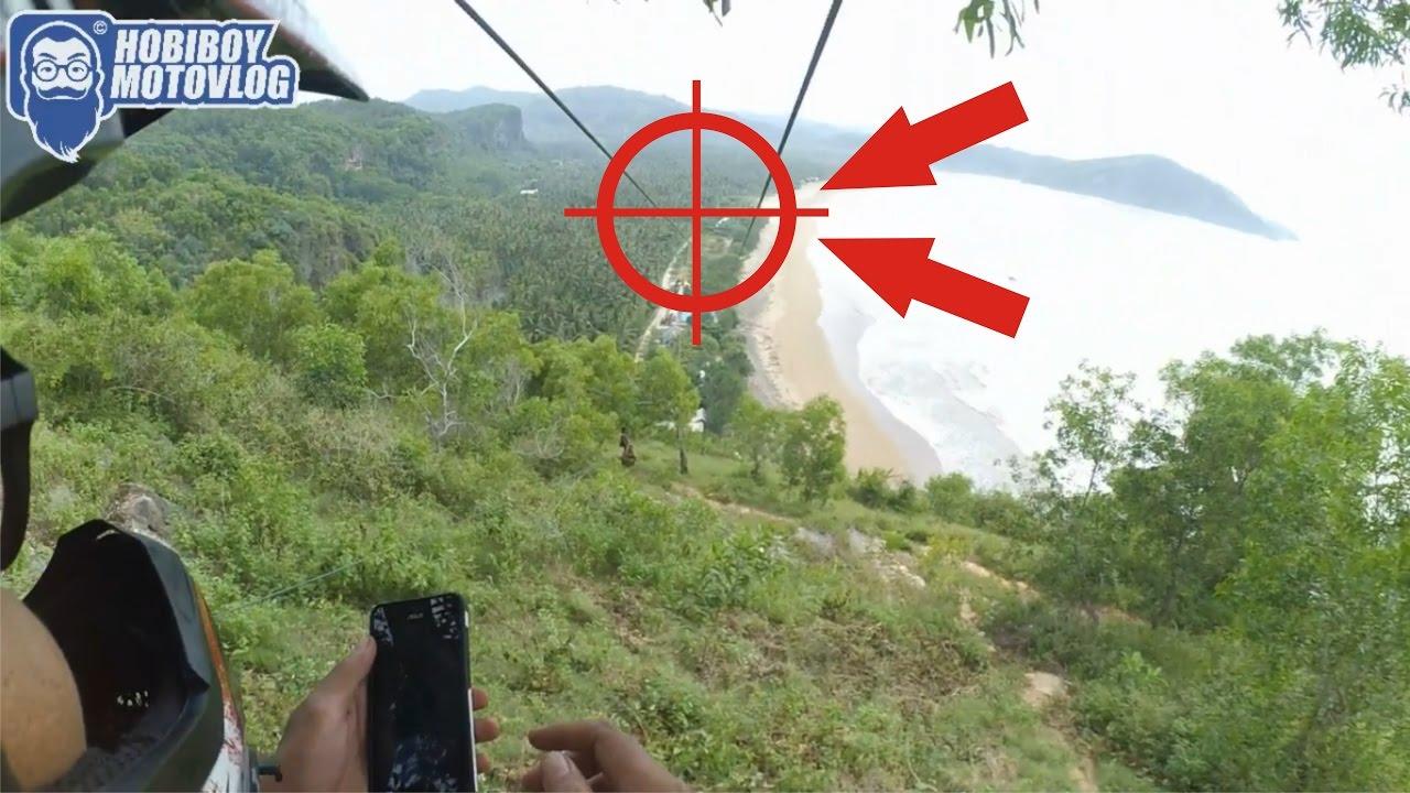 Flying Fox Extreme Terpanjang Se Asia Pantai Taman Pacitan