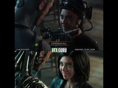 Alita: Battle Angel (2019) - Before After VFX