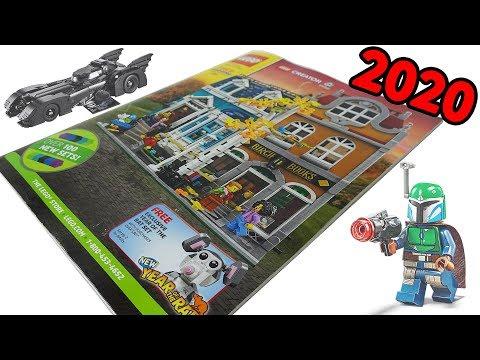 January 2020 LEGO Shopping Catalog Flip-Through! Over 100 New Sets!