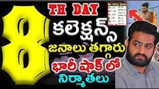 Aravinda Sametha Movie 8th Day Collections|  #jr.Ntr| #aravindasametha|