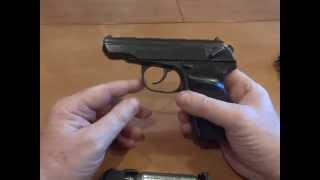 Пистолет Макаров - пневмо и револьвер - травмат Обзор.