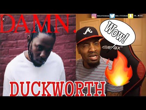 WOWWWW!!!!! | Kendrick Lamar - DUCKWORTH | DAMN | ALBUM REACTION