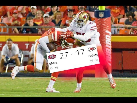 49ers Vs. Chiefs | Preseason Week 1 Highlights!! |