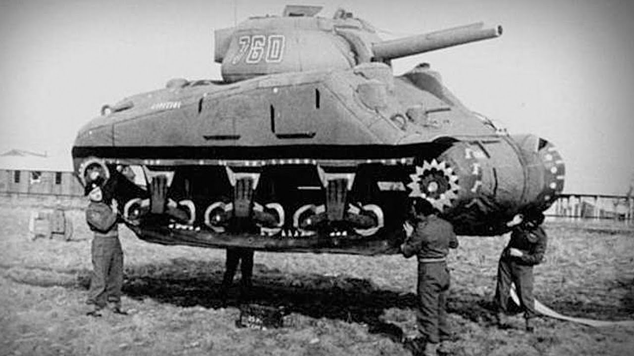 How Germany Was Invaded by An Army of Floating Tanks