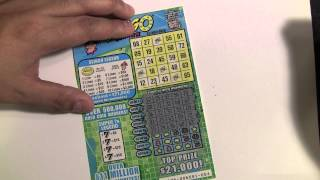 Super 7s Slingo $3 Instant Scratch off Ticket