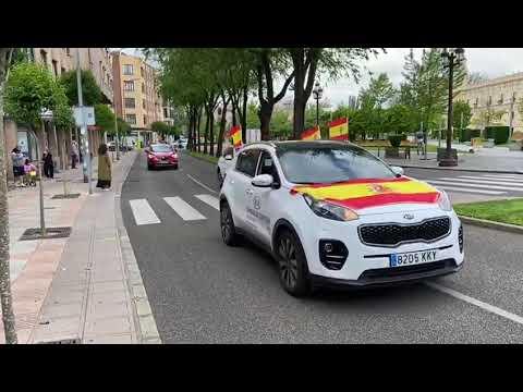 Vox señala que más de 600 coches se han movilizado en León