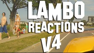 LAMBORGHINI REACTIONS FROM SUBSCRIBERS, AND RANDOM STREET PEOPLE - VOL 4