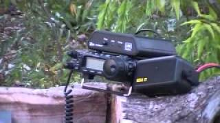 working with ham radio in haiti g5rv yaesu ft 857