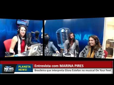 ENTREVISTA MARINA PIRES, BRASILEIRA QUE ESTÁ EM MUSICAL DA BROADWAY!  Facebook