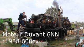 moteur DUVANT 6 NN premier démarrage