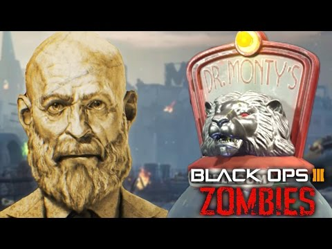 GOROD KROVI EASTER EGG - NEW SECRET DR MONTY MAXIS QUOTE! ORIGINS STORYLINE! (Black Ops 3 Zombies)