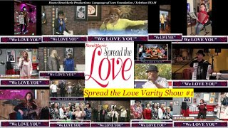 """Spreading the Love"" VARIETY SHOW #1  - Assisted Living Entertainment Specialist"