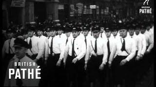 German Military Parade - Young Nazis, SS Men (1935)