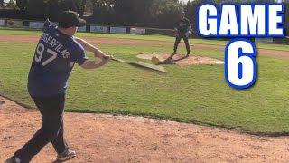 MY FIRST OFFSEASON LEAGUE HOME RUN! | Offseason Softball League | Game 6 thumbnail