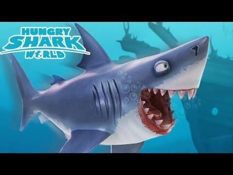 Hungry Shark World - BULL SHARK!!! - Part 6 [Xbox One Gameplay, Walkthrough]