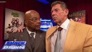 Theodore Long announces the Money in the Bank Ladder Match: SmackDown, June 28, 2013