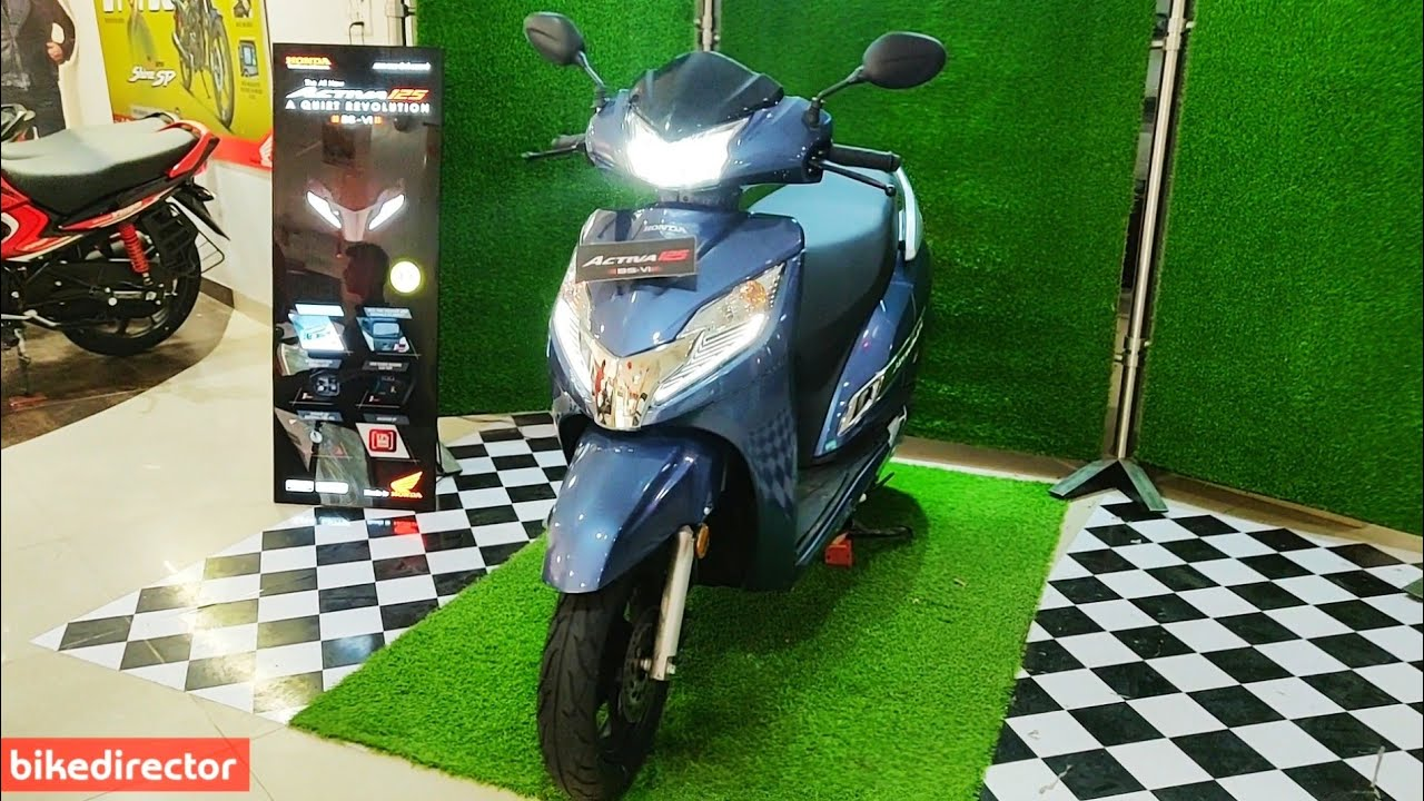 Honda Activa 125 Bs6 2019 New Activa Bs6 2019 Deluxe Model Features Real Life Review Youtube