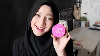 "MY ""STAY ALL DAY"" MAKEUP TUTORIAL WITH CATHY DOLL AA MATTE POWDER CUSHION"
