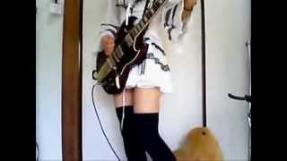 メタル布教活動としてFlying High Againのギターを弾いてみた