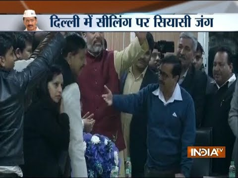 Delhi sealing issue: BJP delegation reach CM Kejriwal's residence to find out possible solution