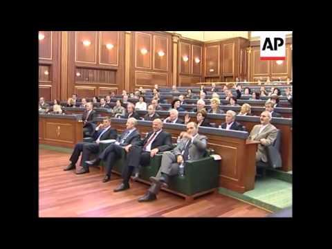 Europe lawmakers mediate in Albania's politics