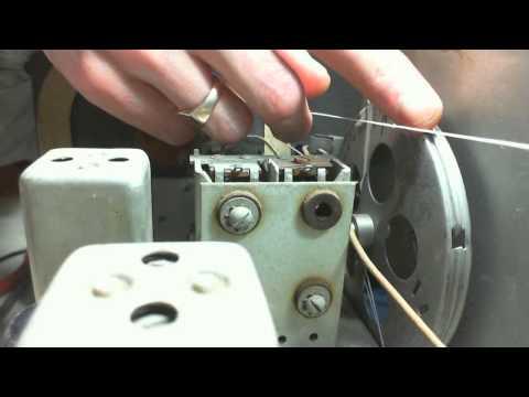 Canadian General Electric KM-5 Vacuum Tube Radio Video #15 - String Strain Saga Continues