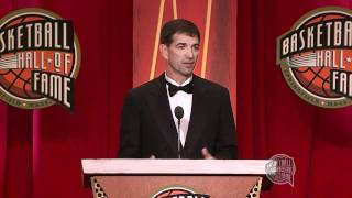 John Stockton's Basketball Hall of Fame Enshrinement Speech