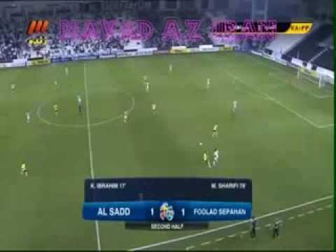 Goal Sepahan Esfahan Iran 1 1 Al Saad Qatar سپاهان اصفهان السد قطر AFC Football Soccer