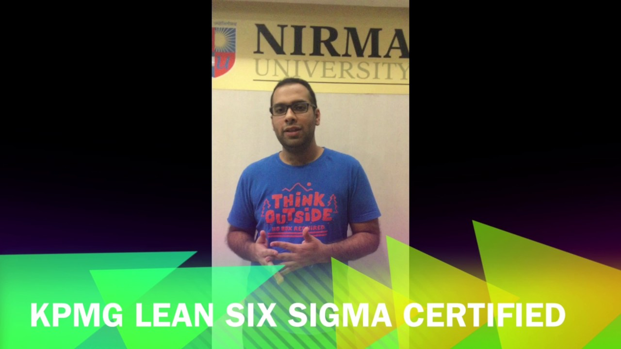 Mr Saurabh Ralhan Kpmg Lean Six Sigma Green Belt Certified Youtube
