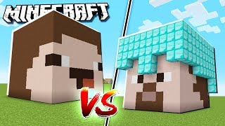 NOOB FACE HOUSE vs PRO HOUSE in Minecraft!