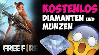 Garena Free Fire Hack Deutsch 2018 Kostenlos Diamanten und Münzen