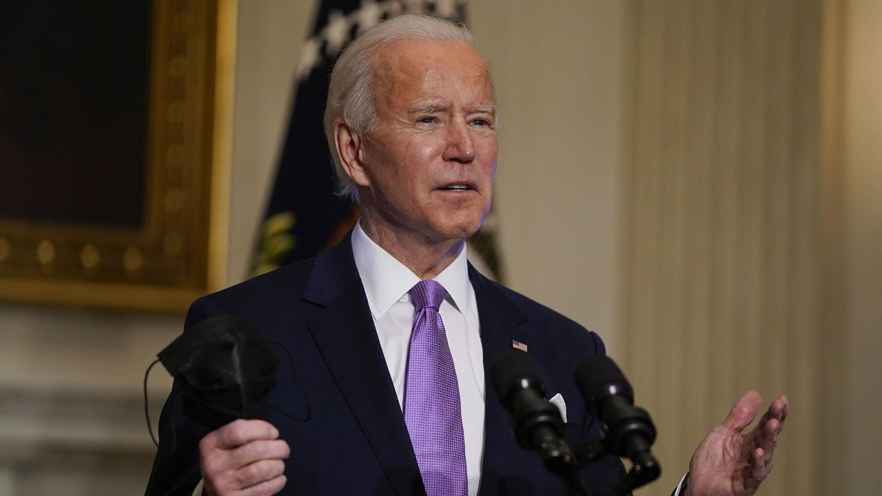 Biden Speaks After CDC Releases New Mask Guidelines