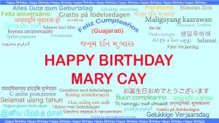 MaryCay   Languages Idiomas - Happy Birthday