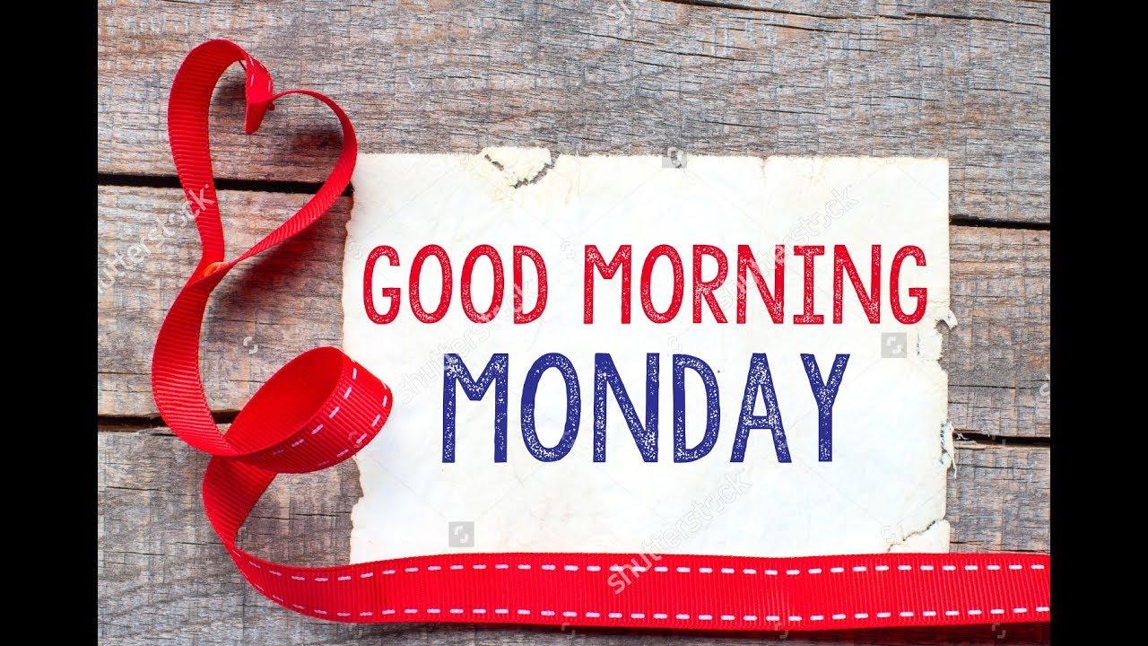 Good Morning Monday | Happy Monday | Sweet Monday | videos ...