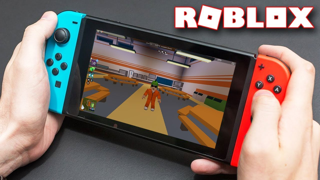 Roblox On The Nintendo Switch Youtube