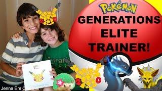 Pokemon Generations Elite Trainer Box Opening for #Pokemon20! Jenna Em Channel