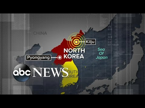 Earthquake reported in North Korea near site of recent nuclear test