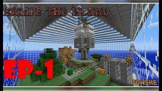 MINECRAFT - Escape the island! Un poco mas jugoso que el anterior!