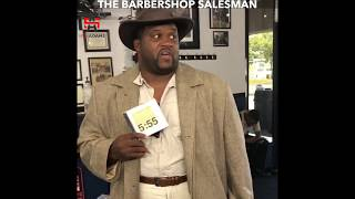 The Barbershop Salesman
