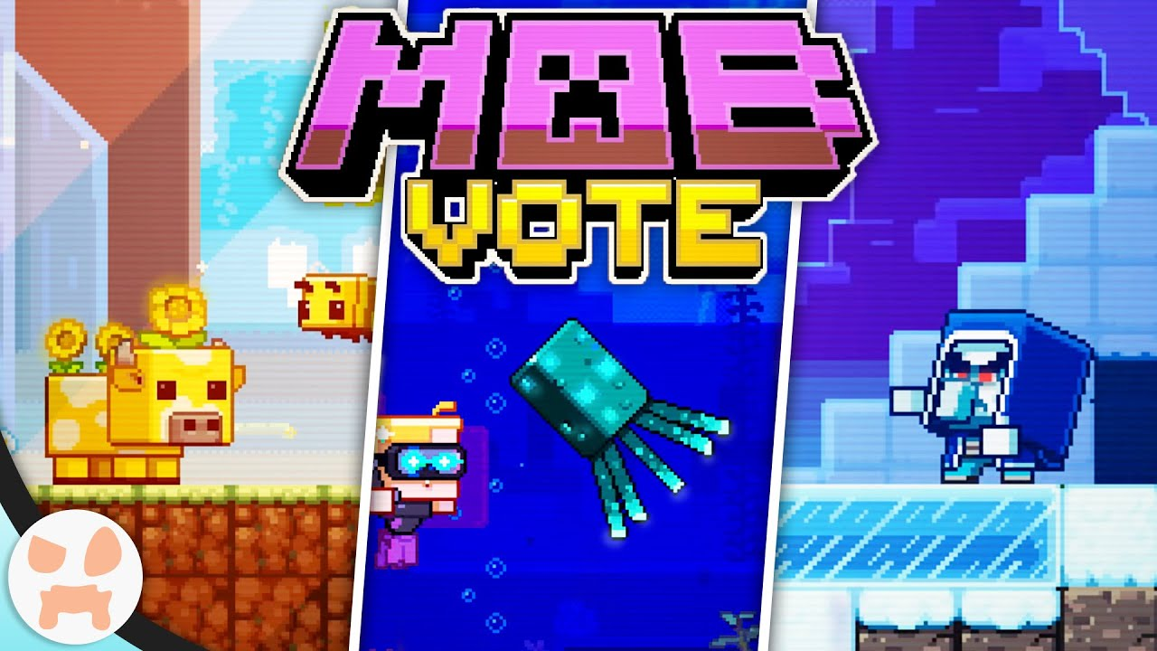 MINECRAFT MOB VOTE 2020! - Moobloom, Iceologer, Glow Squid - Everything to Know & Whos Best
