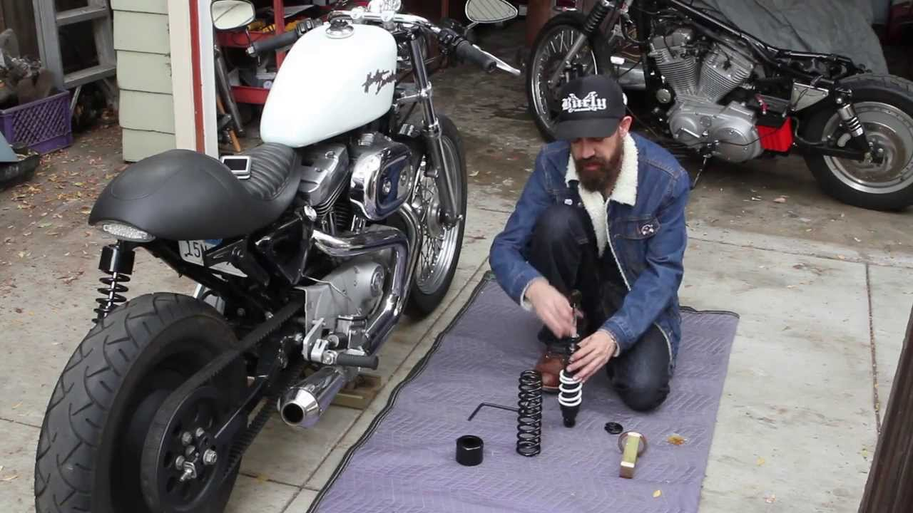 Burly Brand Stiletto Shocks - Custom Painted Bottom Springs