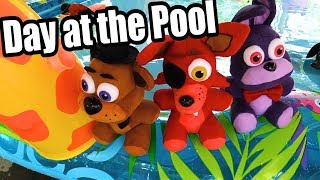 FNAF Plush Episode 89 - Day at The Pool