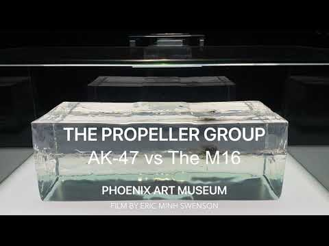 THE PROPELLER GROUP AT PHOENIX ART MUSEUM