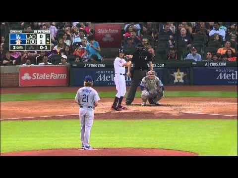 Houston Astros  vs Los Angeles Dodgers August 22 2015
