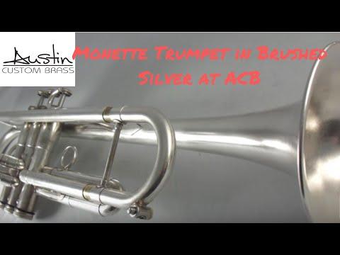 Monette Bb Trumpet for Sale at Austin Custom Brass