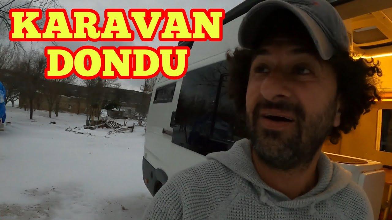 Download KARAVANDA  KAR FIRTINASINA YAKALANDIM #KARAVAN