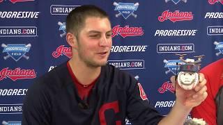 Indians mini baseballs: Trevor Bauer shares the rules of creation