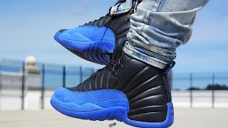 "AIR JORDAN 12 ""GAME ROYAL"" REVIEW & ON FEET! EARLY LOOK"
