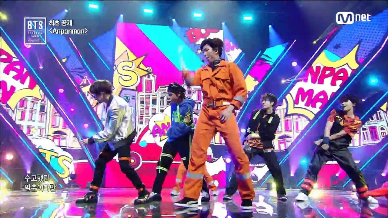 BTS (방탄소년단) - Anpanman @BTS COMEBACK SHOW #1