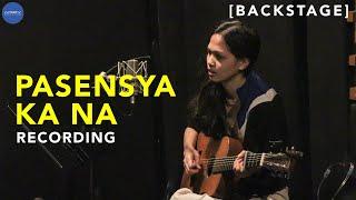 Meg Zurbito's Pasensya Ka Na (Recording) [#IvoryBackstage]